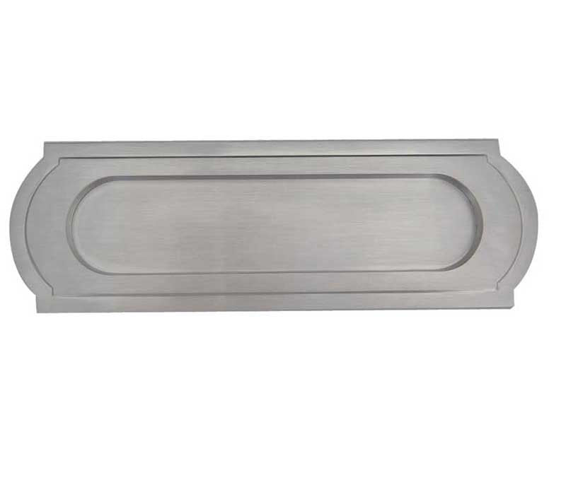 JV25 Sloane Satin Chrome Letterplate