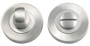 Satin Chrome Bathroom Turn and Release JV2666SC