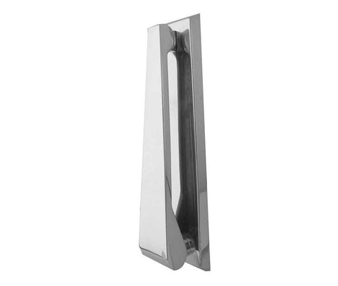 PF27 Modern Contemporary Pewter Smoked Chrome Belgravia Door Knocker