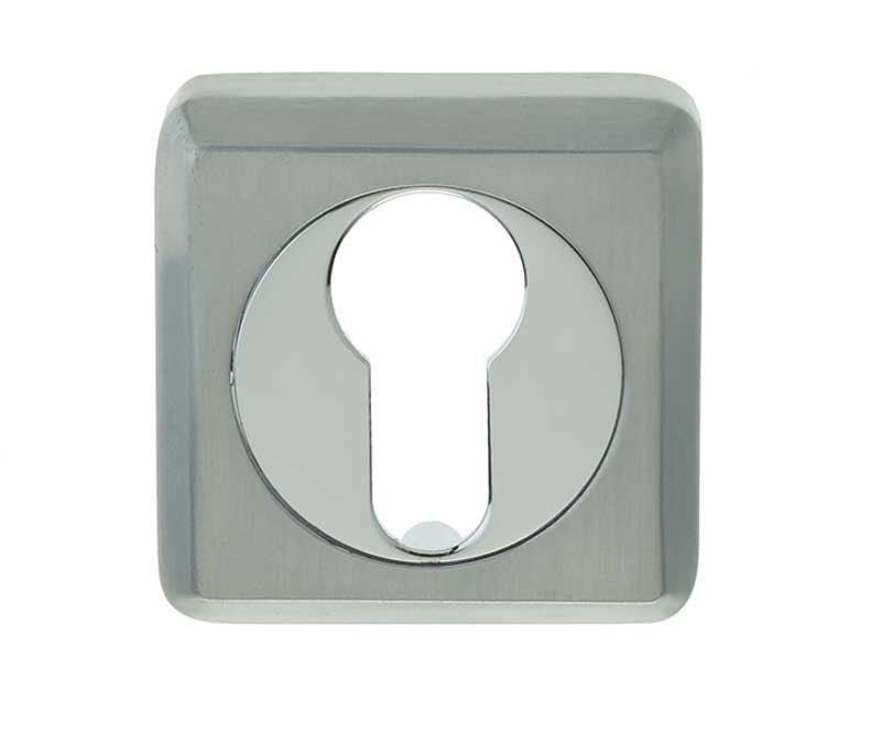 DUO Finish Square EURO PROFILE Escutcheon JV3005EPCSC