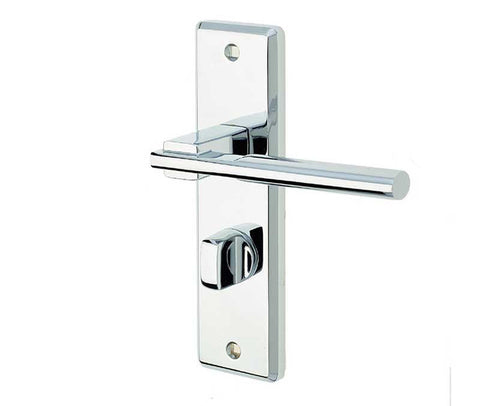 JV3023PC Polished Chrome Frelan Hardware Delta Bathroom Door Handles