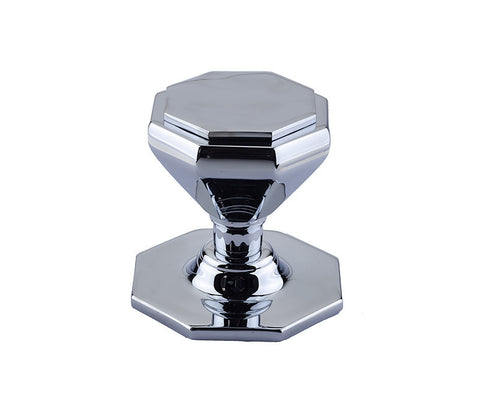 JV33PC Polished Chrome Centre Door Knob