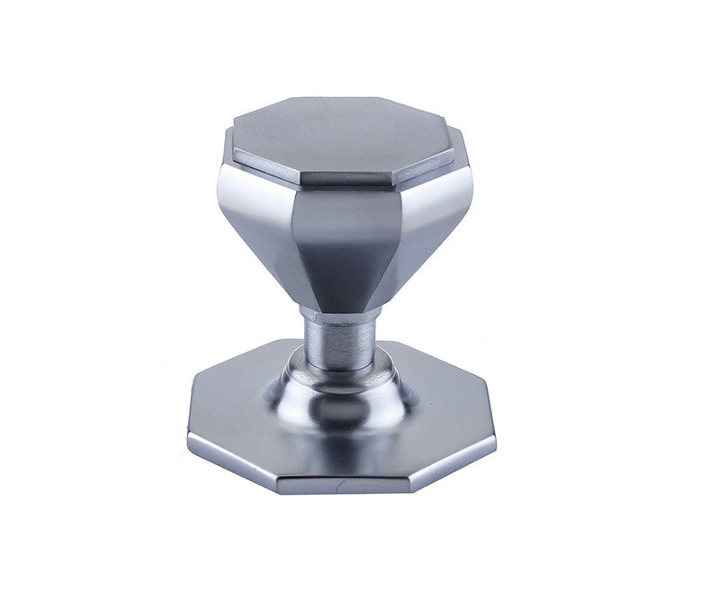 JV33SC Satin Chrome Centre Door Knob