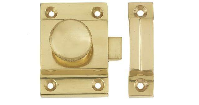 Polished Brass Door Catch