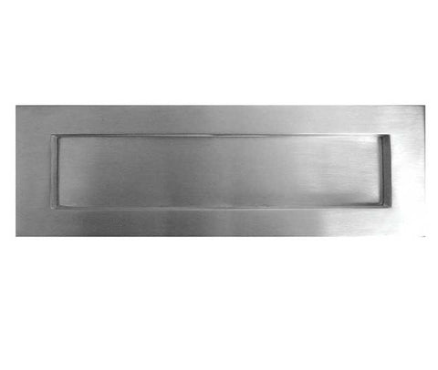 12 Inch Classic Sprung Letterplate JV36A - Various Finishes
