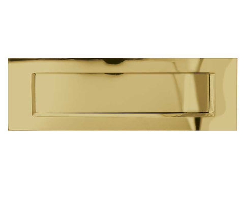 Polished Brass Standard Letterplate - Various Sizes