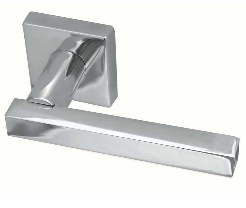 Kubus Designer Door Handles On Square Rose JV4001