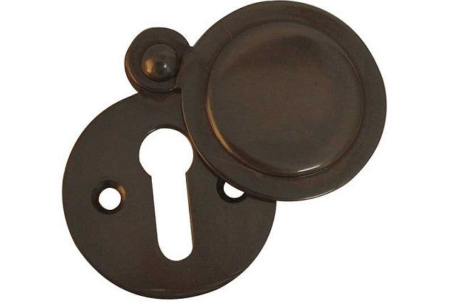 JV42 Dark Bronze Covered Keyhole