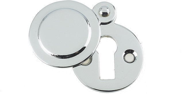 JV42 Polished Chrome Covered Keyhole