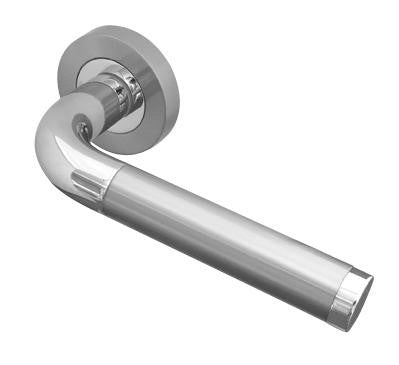 Twin Finish Door Handles JV430PCSC