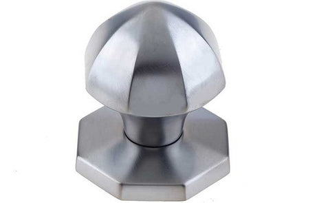 JV49 Satin Chrome Centre Door Knob