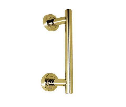 T-Bar Pull Handle Polished Brass JV515PB