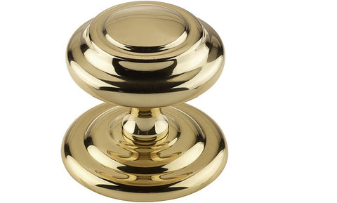JV57 Polished Brass Sloane Centre Door Knob