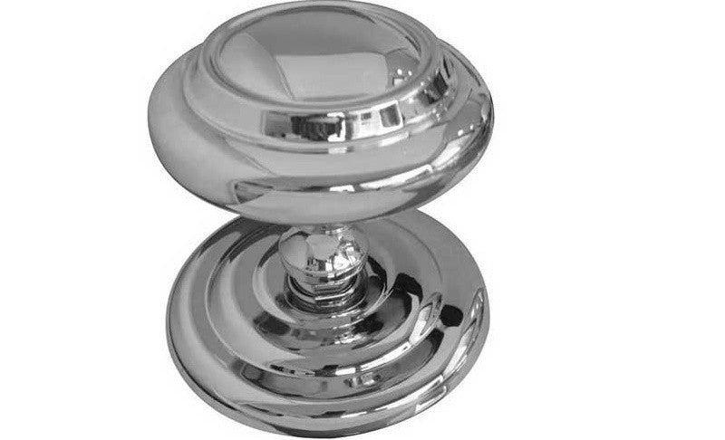 JV57 Polished Chrome Sloane Centre Door Knob