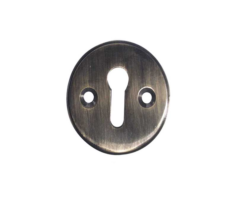 JV603 Raised Keyhole Plate - Various Finishes