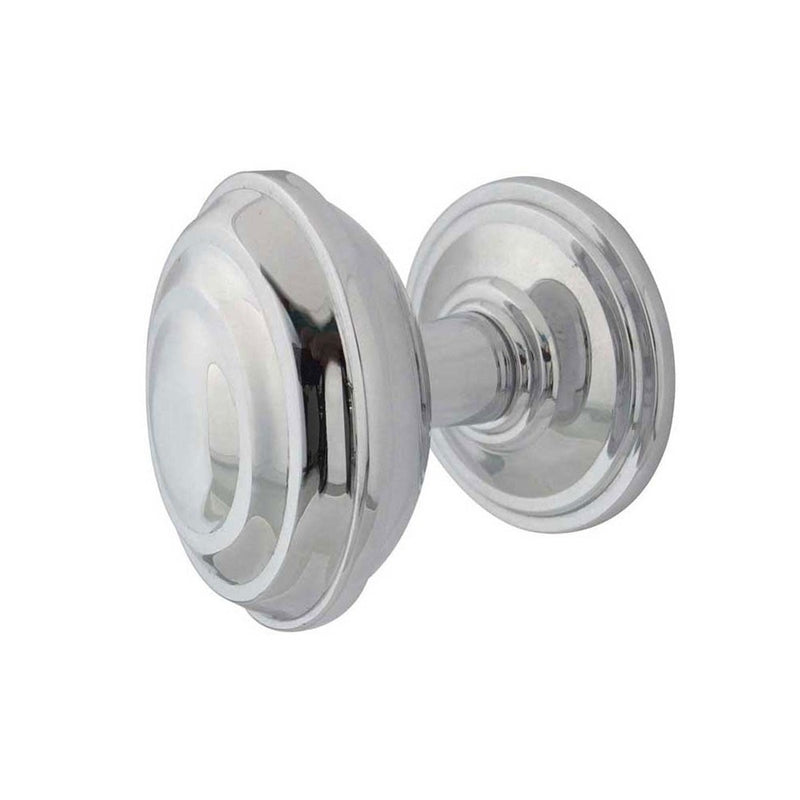 JV65PN Ronson Mortice Door Knobs Polished Nickel