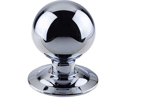JV830 Polished Chrome Centre Door Knob