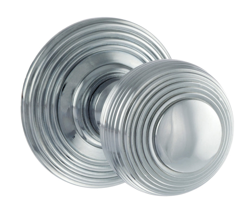 Atlantic UK Old English, OE50RMKPC Ripon Mortice Door Knobs - Polished Chrome
