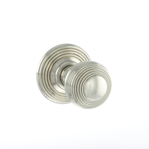 Atlantic UK Old English, OE50RMKPN Ripon Mortice Door Knobs - Polished Nickel