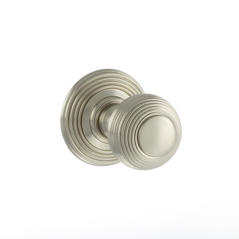 Atlantic UK Old English, OE50RMKSN Ripon Mortice Door Knobs - Satin Nickel