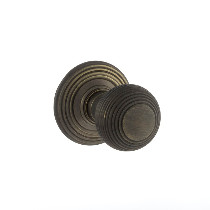 Atlantic UK Old English, OE50RMKUB Ripon Mortice Door Knobs - Urban Bronze