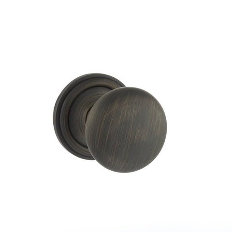 URBAN BRONZE  - OE58MMK Harrogate Mushroom Mortice Door Knobs