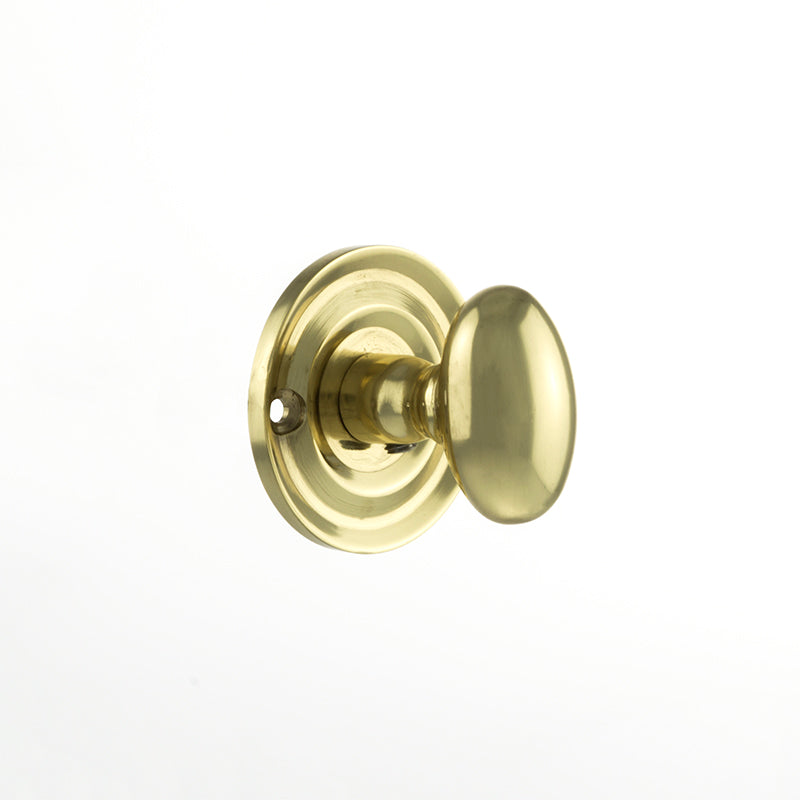 Polished Brass Atlantic UK Old English Bathroom Turn & Release - OEOWC-PB