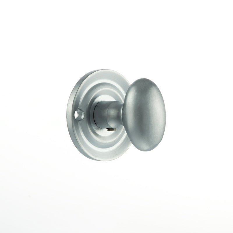 Satin Chrome Atlantic UK Old English Bathroom Turn & Release - OEOWCSC