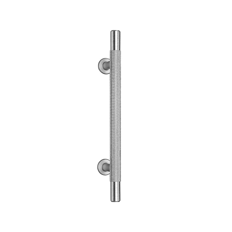 Knurled Satin T-Bar Drawer/Cabinet Pull Handle - 3no Sizes Available 96mm, 128mm, 192mm Centres