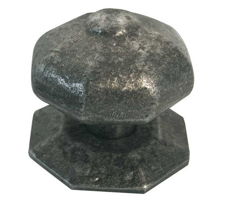 Pewter Centre Non Turning Door Knob
