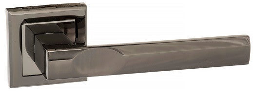 Kansas S24SBN Black Nickel Atlantic UK Hardware Door Handles Square rose.