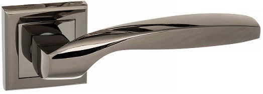 Atlantic Status Oklahoma Polished Black Nickel Door Handles S25SBN