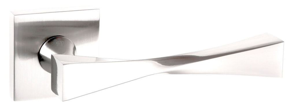 Atlantic UK Senza Pari 'Guido' Door Handles On Square Rose Polished Chrome- SP190PC