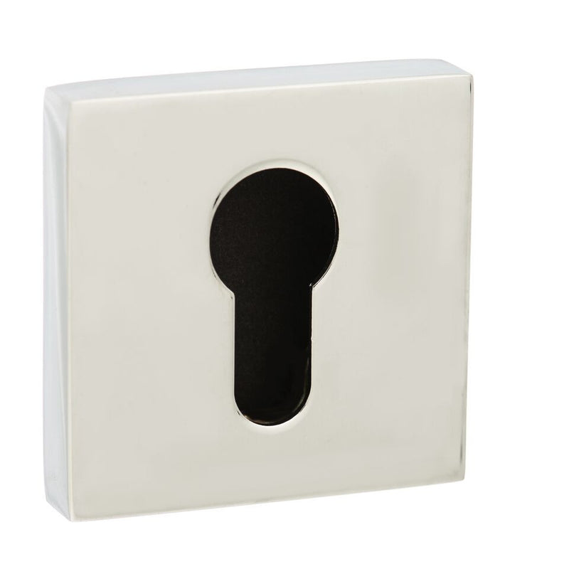 Atlantic Senza Pari 'EURO PROFILE' Keyhole Square Rose, Various Finishes-SP-ESC-E