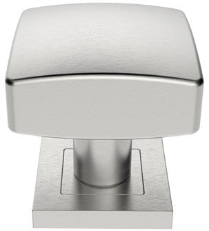 Steelworx Satin Stainless Steel Sprung Mortice Door Knob - SSK1062SSS
