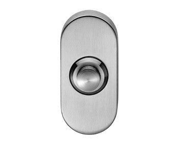 Stainless Steel Oval Bell Push - SWE1030