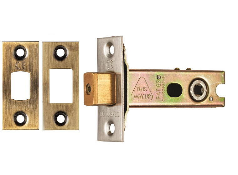 2.5, 3 And 4 Inch - Antique Brass/Bronze Bathroom Deadbolt - TLD5840AB