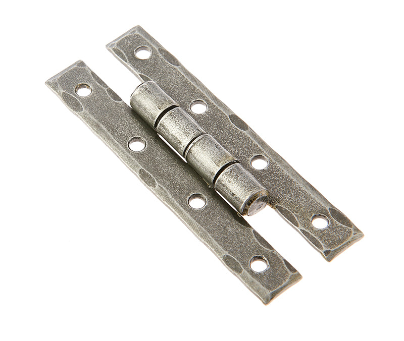 Valley Forge 90mm Pewter Patina H Hinges VF107