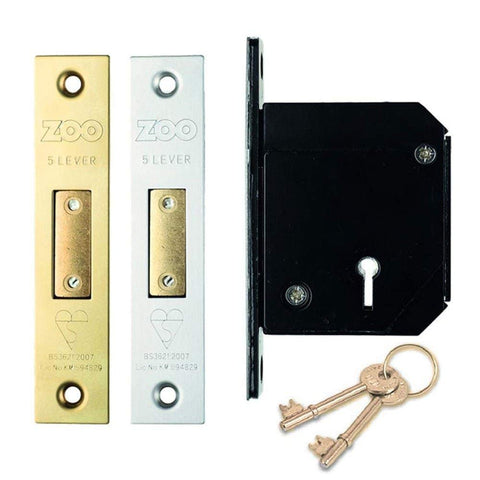 British Standard Insurance Approved 5 Lever Chubb Retro-Fit Dead Lock