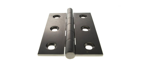 3 Inch Black Nickel Butt Hinges - ABH3222BN