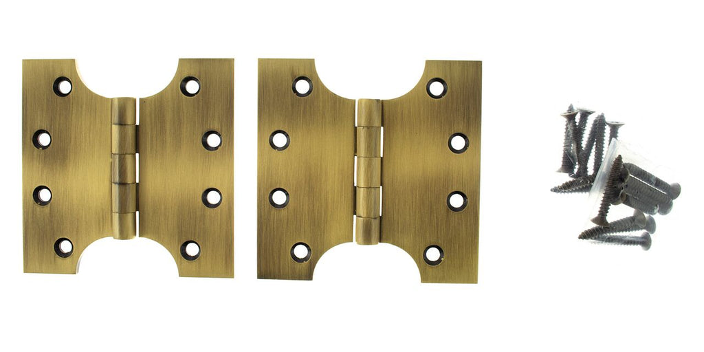 4 x 4 Inch Antique Brass/Bronze Atlantic UK Parliament Hinges - APH424AB
