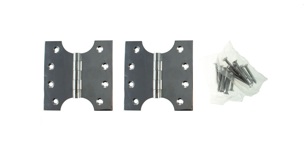 4 x 4 Inch Polished Chrome Atlantic UK Parliament Hinges - APH424PC