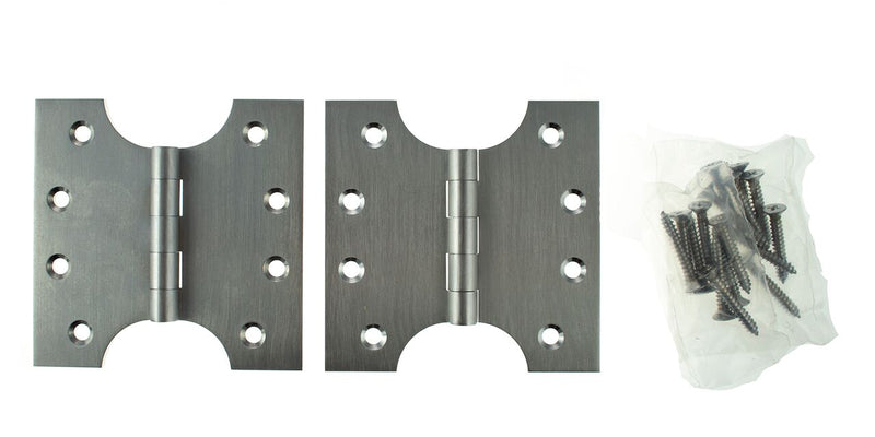 4 x 4 Inch Satin Chrome Atlantic UK Parliament Hinges - APH424SC