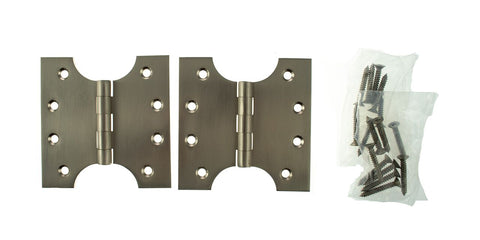 4 x 4 Inch Satin Nickel Atlantic UK Parliament Hinges - APH424SN