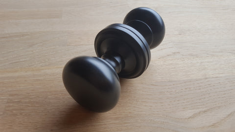 harrogate matt black atlantic uk door knobs oe58mmk