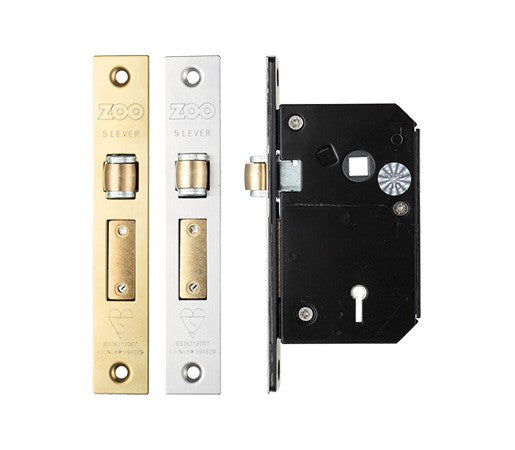 68mm Case British Standard Insurance Approved 5 Lever Chubb Retro-Fit Roller Bolt Sash Lock
