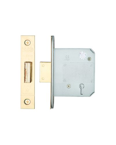 5 Lever Insurance Approved Mortice Dead Lock, 3 Inch - BS3621 - VARIOUS FINISHES