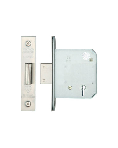 KEYED ALIKE 5 Lever Insurance Approved Mortice Dead Lock, 3 Inch - BS3621 - VARIOUS FINISHES