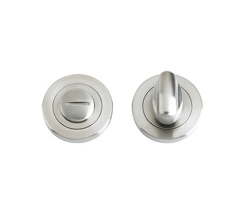 ZPS004SS Satin Stainless Steel Bathroom Turn and Release