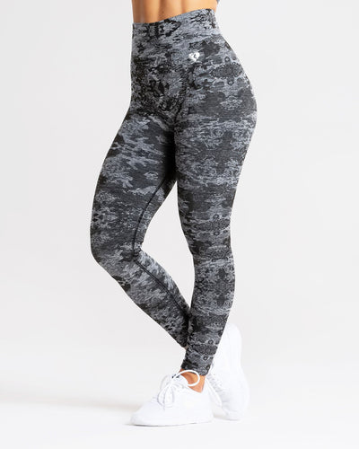 Camo Seamless Leggings | Black